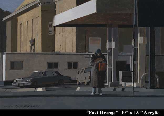 "East Orange 10"" x 15"" Acrylic"