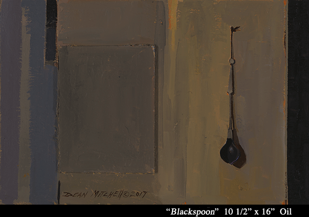 "Blackspoon 10.5"" x 16"" oil"