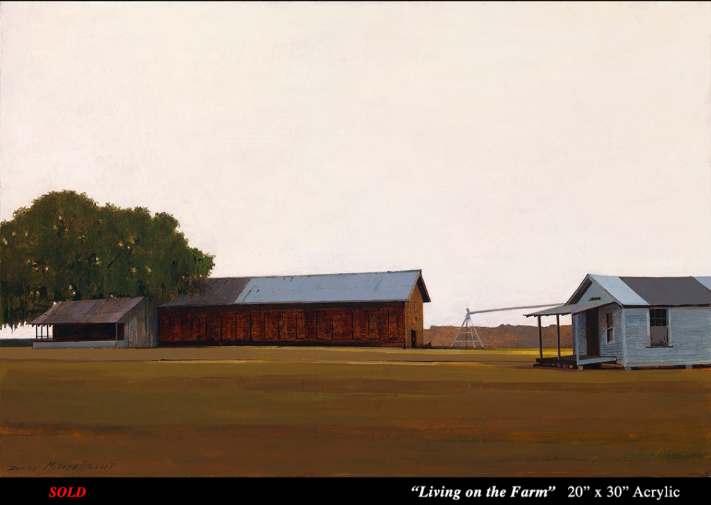 "Living on the Farm Acrylic 20"" x 30"""