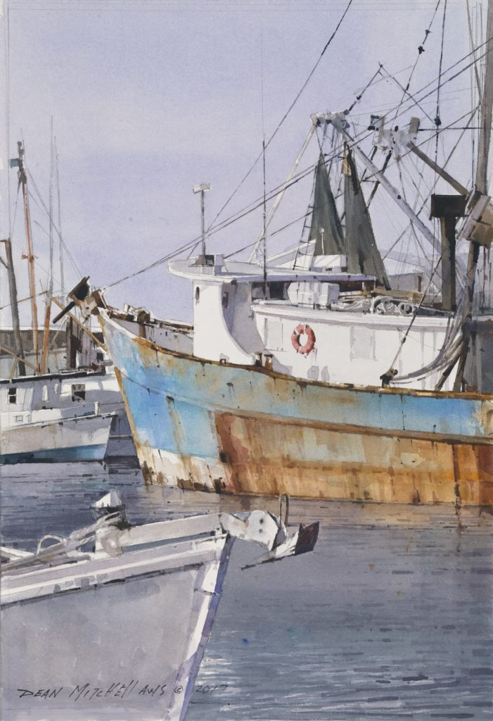 "<strong style=""color: red;"">SOLD</strong>  On the Gulf  15"" x 10""  Watercolor"