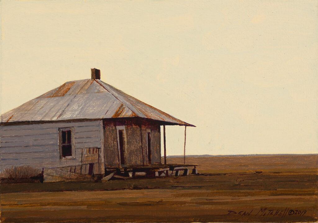 "Mississippi Farm House 7"" x 10"" acrylic"